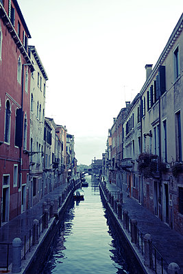 Italy, Canal in Venice - p1189m2176189 by Adnan Arnaout