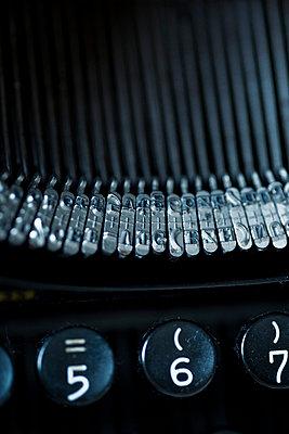 Schreibmaschinentastatur - p3300184 von Harald Braun