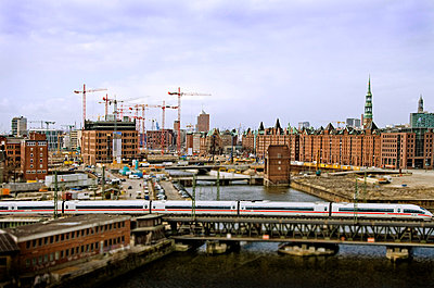 View over Hamburg - p7920018 by Nico Vincent