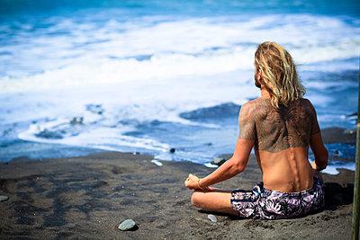 Am Strand, Bali - p1108m1004274 von trubavin