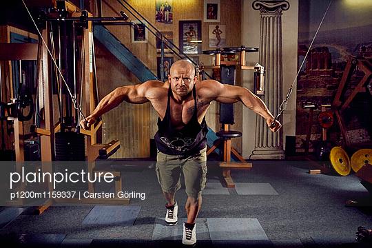 Bodybuilding - p1200m1159337 von Carsten Görling