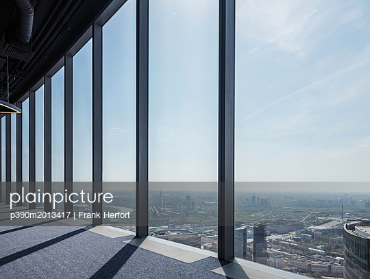 View from a skyscraper in Moscow - p390m2013417 by Frank Herfort