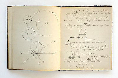 page from a students school notebook from 1883 - p2651537 by Oote Boe