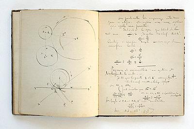 Altes Schulheft aus dem 19. Jahrhundert - p2651537 von Oote Boe