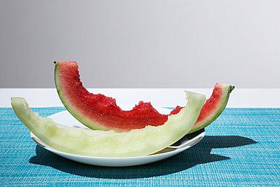 Melonenreste - p1149m1146841 von Yvonne Röder