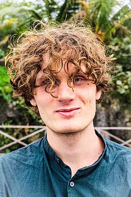 Curly hair - p075m2071228 by Lukasz Chrobok
