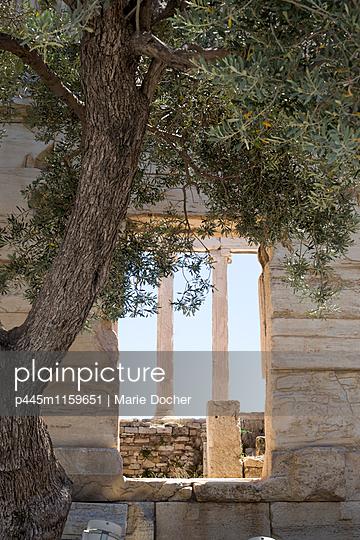 Blick auf das Parthenon - p445m1159651 von Marie Docher