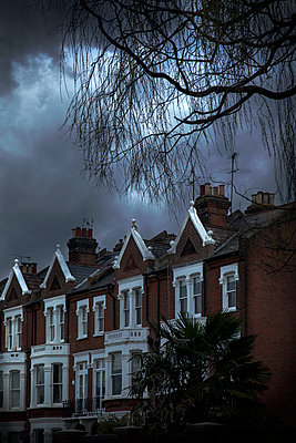 Victorian Terraced houses - p1248m2179118 by miguel sobreira