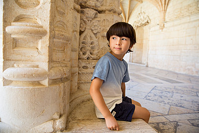 Jeronimos Monastery - p535m2020512 by Michelle Gibson