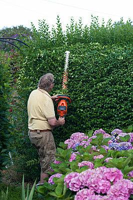 Gartenarbeit - p236m932609 von tranquillium