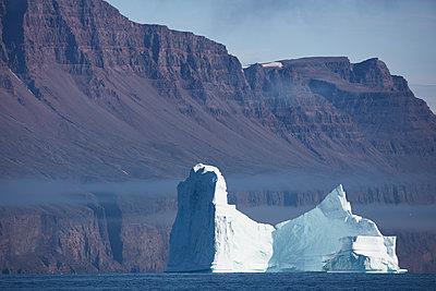 Eisberg vor Steilküste - p719m1181416 von Rudi Sebastian