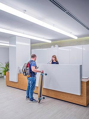 Büroalltag - p390m1528670 von Frank Herfort