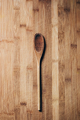 Wooden Baking Spoon - p1262m1208172 by Maryanne Gobble