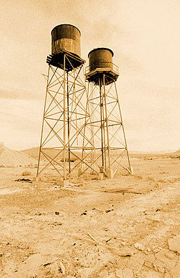 Water Towers - p6510877 by John Coletti photography