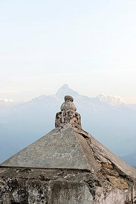Am Ausläufer des Annapurnamassives - p949m948549 von Frauke Schumann