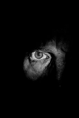 Eye in the dark - p1057m2141781 by Stephen Shepherd