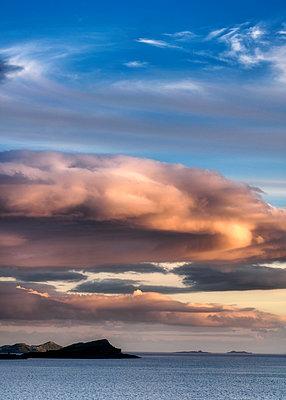 Loch Melfort Clouds - p1154m1162661 by Tom Hogan