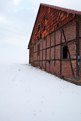 Half-timbered house - p9790852 by Dott