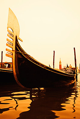 Gondel in Venedig - p3300146 von Harald Braun