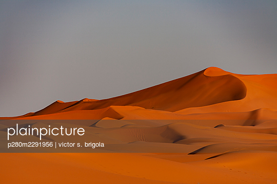Sahara Sand Dunes - p280m2291956 by victor s. brigola