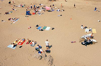 Menschen am Strand - p2600053 von Frank Dan Hofacker
