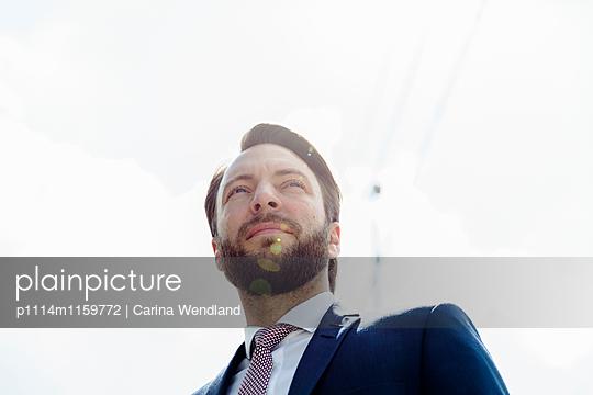 Geschäftsmann - p1114m1159772 von Carina Wendland