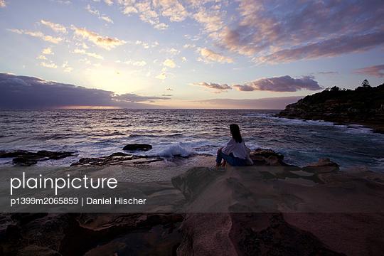 Den Sonnenaufgang beobachten - p1399m2065859 von Daniel Hischer