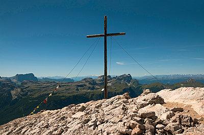 Heiligkreuzkofel im Naturpark Fanes-Sennes-Prags - p470m1481735 von Ingrid Michel