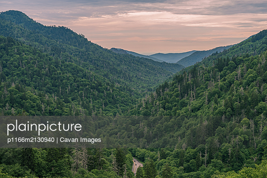 Great Smoky Mountains National Park - p1166m2130940 by Cavan Images