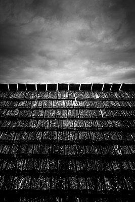 Holzdach - p248m1515243 von BY