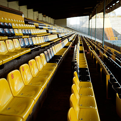 Seats in a football stadium - p2280148 by photocake.de