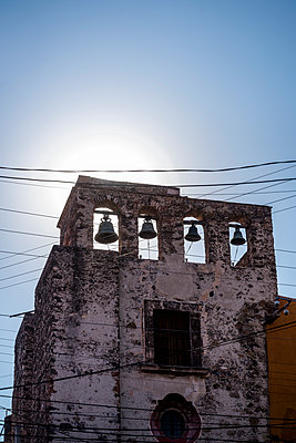 Church bells, Mexico - p1170m1573326 by Bjanka Kadic