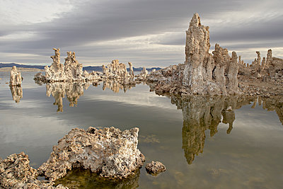Tufa formations, Mono Lake, California, United States of America, North America - p871m1073309f by James Hager