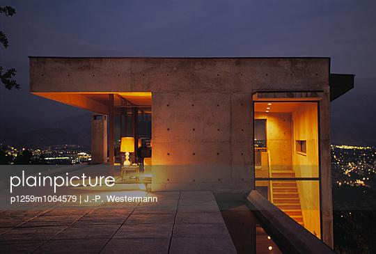 Haus, Chile - p1259m1064579 von J.-P. Westermann