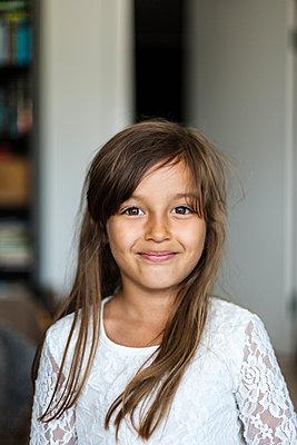 Portrait of girl in Sweden - p352m1536623 by Calle Artmark