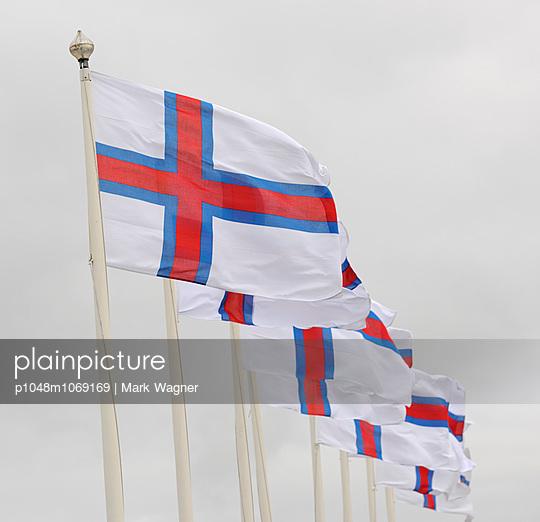 Faroe Islands Flags - p1048m1069169 by Mark Wagner