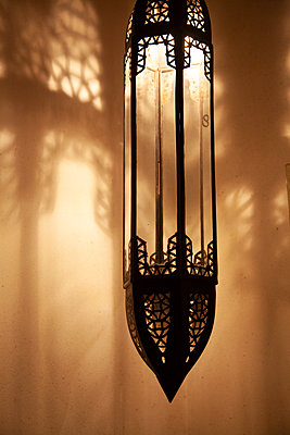 Moroccan Lamp - p1248m2108606 by miguel sobreira
