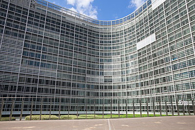 Belgium, Brussels, European Commission, Berlaymont building - p300m950978f by Wilfried Wirth
