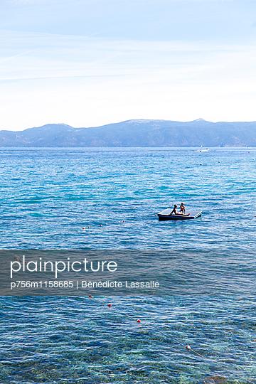 Tahoe City - p756m1158685 von Bénédicte Lassalle