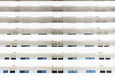 Hotel balconies - p1427m2186460 by Chris Hackett