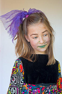 Girl at Halloween - p347m952649 by Georg Kühn