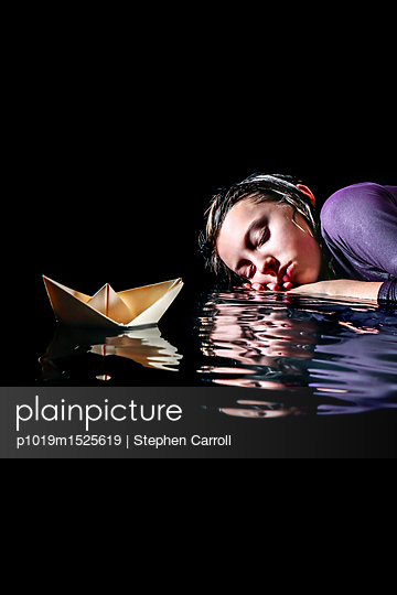 Dreaming - p1019m1525619 by Stephen Carroll