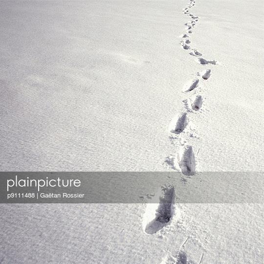 White winter - p9111488 by Gaëtan Rossier