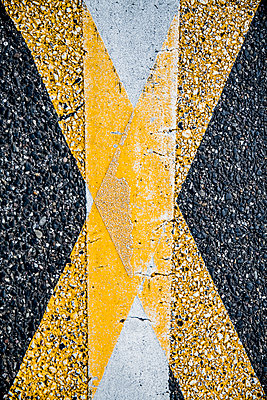 Road marking - p401m1589537 by Frank Baquet