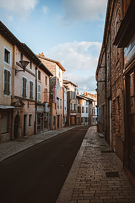 France, Row of houses - p1681m2263282 by Juan Alfonso Solis