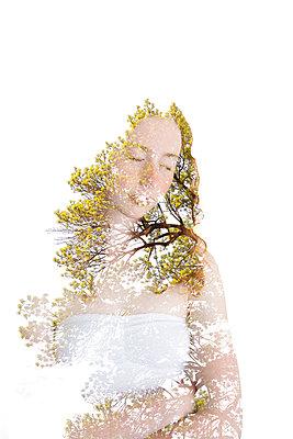 Traum vom Baum - p756m932143 von Bénédicte Lassalle