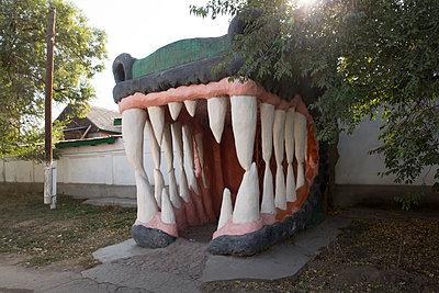 Gruseliger Eingang - p497m2087200 von Guntram Walter