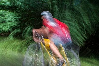 Bike racer - p739m660984 by Baertels