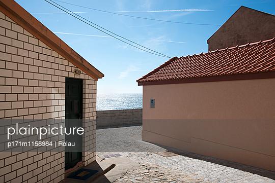 Häuser am Atlantik - p171m1158984 von Rolau