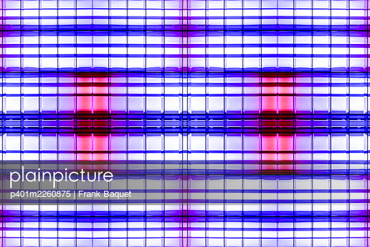 Abstract light kaleidoscope - p401m2260875 by Frank Baquet